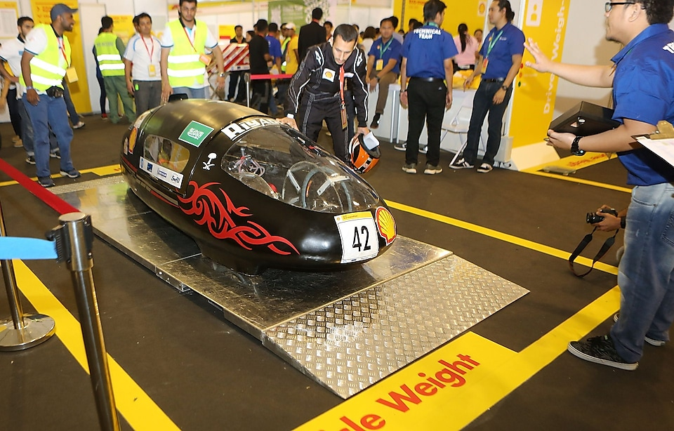 The Riyadh1 prototype during technical inspection