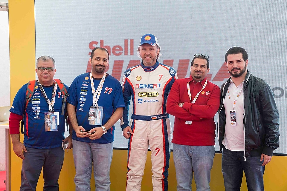 Shell JOSLOC at Rimula truck racing challenge