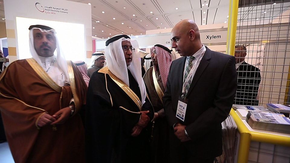 Shell Saudi Arabia exhibits at the Saudi Water & Electricity Forum